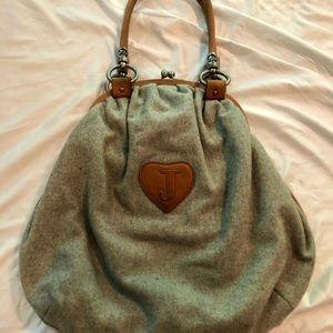 Juicy couture cashmere bag. Original collection.
